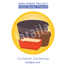 Badge: Container Gardening