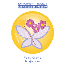 Badge: Fairy Crafts