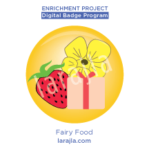Badge: Fairy Food