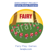 Badge: Fairy Play - Games