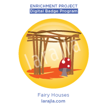 Badge: Fairy Houses