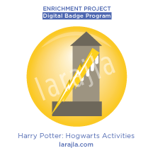 Badge: Harry Potter - Hogwarts Activities