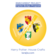 Badge: Harry Potter - Crafts