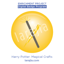 Badge: Harry Potter - Magical Crafts