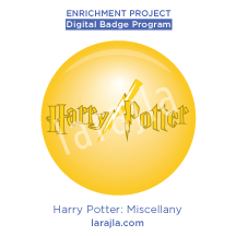 Badge: Harry Potter - Miscellany