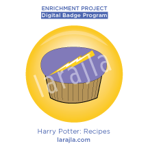 Badge: Harry Potter - Recipes
