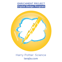 Badge: Harry Potter - Science