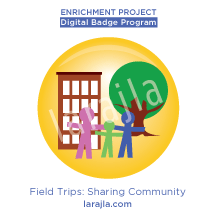Badge: Field Trips - Sharing Community