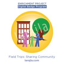 Badge: Field Trips - Sharing Community