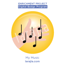 Badge: My Music