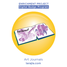 Badge: Art Journals