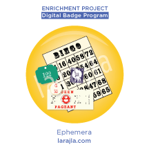 Badge: Ephemera