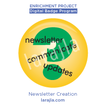Badge: Newsletter Creation