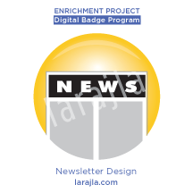 Badge: Newsletter Design