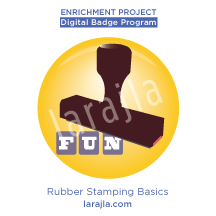 Badge: Rubber Stamp Basics
