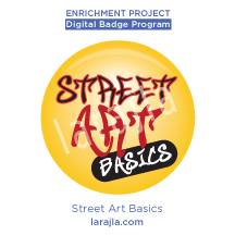 Badge: Street Art Basics