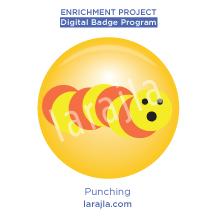 Badge: Punching