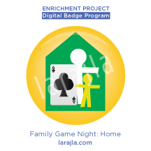 Badge: Family Game Night - Home Edition
