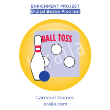 Badge: Carnival Games