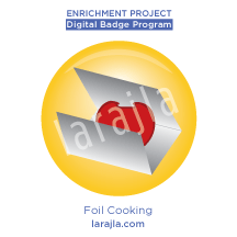 Badge: Foil Cooking