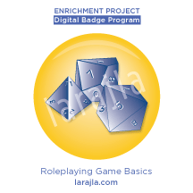 Badge: Roleplaying Game Basics