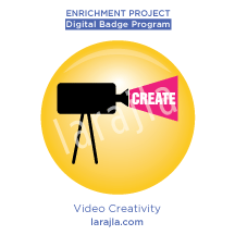 Badge: Video Creativity