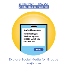 Badge: Explore Social Media for Groups