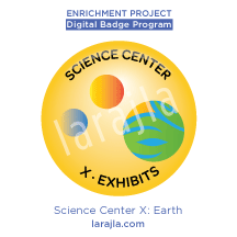 Badge: Science Center X - Earth